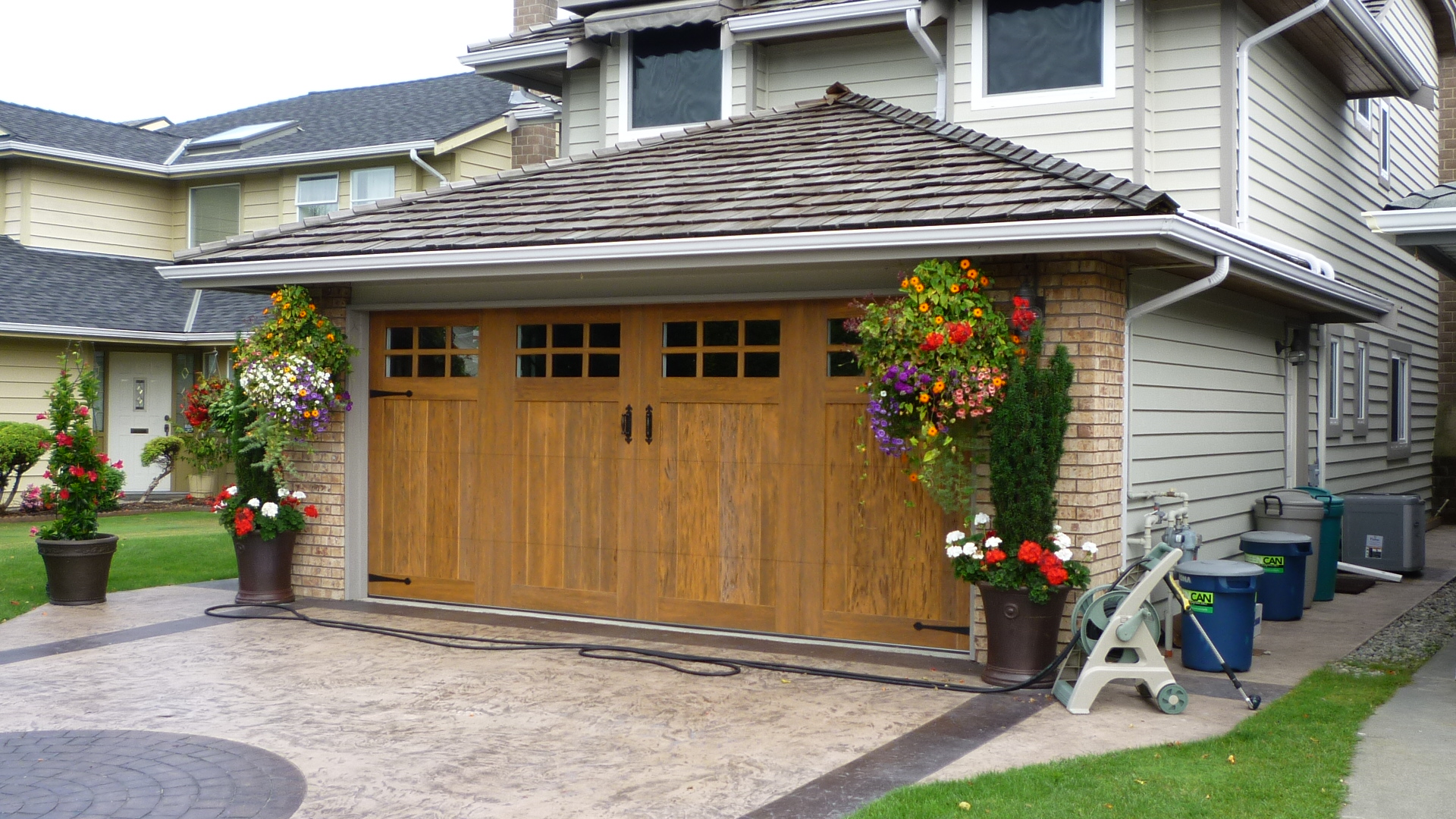 Garage doors jmacdoors Curb appeal doors
